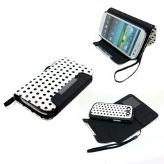 Eforstore 2 In 1 Polka Dot Flip Wallet Case + Back Cover Stand for Samsung Galaxy S3 I9300 SIII (Samsung Galaxy S3/i9300 2-in-1 Black) by Eforstore, http://www.amazon.com/dp/B00ENEFZA4/ref=cm_sw_r_pi_dp_V6nGsb0E521E6