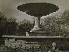 The fountain in the Saxon Garden at Warsaw :: Jan Bulhak Collection :: Digital Collections :: University at Buffalo Libraries. Click the image to visit the University at Buffalo Libraries Digital Collection and learn more about the photograph. #ublibraries #polishroom #JanBulhak #Poland