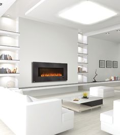Platonic Fireplaces Contemporary Modern H