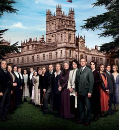 New downton abbey season 4 cast photo