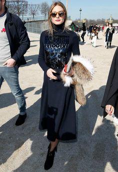 ~3/5 #オリビア・パレルモ Paris Fashion Week Fall 2015 |海外セレブ最新画像・私服ファッション・着用ブランドまとめてチェック DailyCelebrityDiary*