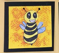 Bee Art, Autumn Art, Creative Kids, Art School, Diy For Kids, Kindergarten, Disney Characters, Fictional Characters, Butterfly