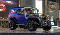 Mahindra Thar Wanderlust released in India. Showcased at 2018 Auto Expo Event.