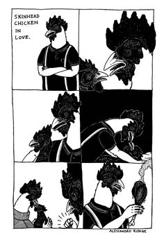 Illustrations/Comics (b/n) on Behance by Alessandro Ripane   Draw   Illustration   Drawing   Black  