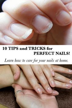 10 tricks for healthy nails! Keeping your nails in shape does not involve making frequent trips to your manicurist, say dermatologists, because of all the aggression suffered in contact with sharp instruments. In fact, experts say that once you keep your nails strong and healthy, you will not need as often for a manicure. The following methods recommended by medical experts will help in this regard.