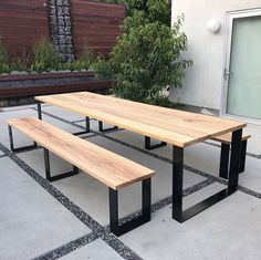 Border of coffee- Meja caffe Border of coffee - Homemade Kitchen Tables, Kitchen Table Bench, Dining Bench, Welded Furniture, Table Furniture, Furniture Design, Outdoor Furniture, Wood Table Design, Dining Table Design