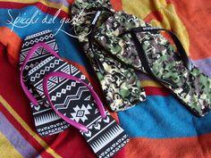 Spicchi del gusto: Hikkaduwa le flip flop squadrate e super colorate