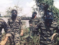US Navy SEAL team members in the Mekong Delta, January 1969. (AP Photo/U.S. Navy)