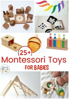 25 Best Montessori Toys for Babies, These 25 Montessori Toys for babies are perf. 25 Best Montessori Toys for Babies, These 25 Montessori Toys for babies are perfect for your newbor Diy Montessori Toys, What Is Montessori, Montessori Toddler, Toddler Toys, Montessori Bedroom, Montessori Homeschool, Newborn Toys, Newborns, Toys For 1 Year Old