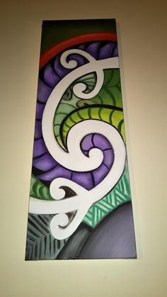 Maori Symbols, Maori Patterns, Polynesian Art, Maori Designs, New Zealand Art, Nz Art, Homemade Art, Maori Art, Kiwiana