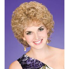 Cheerful Wig - From power lunch to dinner and a movie, you'll look sensational in these lush, face-framing curls. Find this style & more @ thewigcompany.com