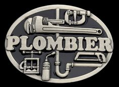 Plombier Plomberie French Plumber Tools Occupation Belt Buckle #plombier #plumber #plumberbuckles #plumberbeltbuckle #boucldeceinture #beltbuckles