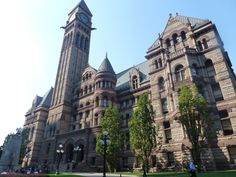 Old Town Hall Toronto Town Hall, Where To Go, Old Town, Niagara Falls, Barcelona Cathedral, Toronto, Building, Places, Travel