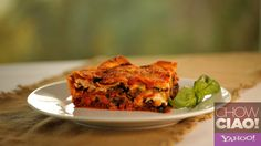 Legendary Vegetable Lasagna from Fabio Viviani! Recipe: http://yhoo.it/YLrUCf