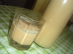 Glass Of Milk, Drinks, Food, Cakes, Syrup, Meal, Eten, Cake, Drink