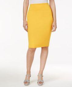 Thalia Sodi Scuba Pencil Skirt, Created for Macy's    macys.com
