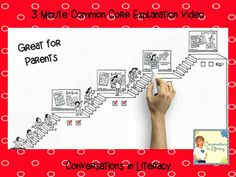 Common Core Resources:  Great video to use to explain the Common Core to parents!