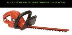 """Black & Decker Electric Hedge Trimmer 18"""" 3.5 Amp Motor #racing #hedge #products #fpv #camera #plans #kit #electric #drone #trimmers #parts #tech #gadgets #technology #shopping"""