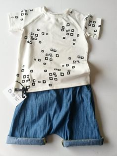 Shirt Vierkantjes | Korte mouw | Daphne Vos