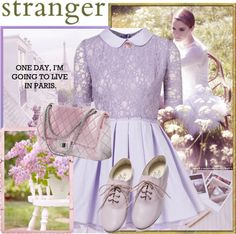 """Stranger in Paris!"" by hennie-henne ❤ liked on Polyvore"