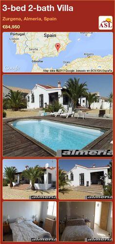 3-bed 2-bath Villa in Zurgena, Almeria, Spain ►€84,950 #PropertyForSaleInSpain