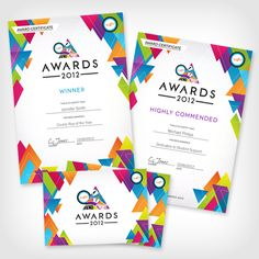 Yusu Awards 2017 Certificates By Charlotte Hans Creativejuice Www Cjhans Co