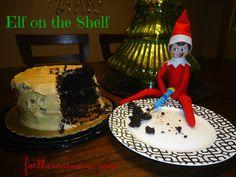 Elf on the Shelf - Birthday Cake Surprise!