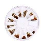 50pcs Different Shaped Metal Nail Art Decorat... – CAD $ 2.35