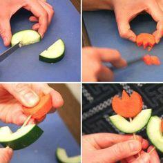 Para decorar las ensaladas