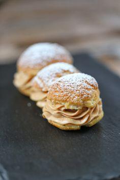 On dine chez Nanou: Eclair Façon Paris Brest de Philippe Conticini ,recette issue du numéro 3 de Fou de pâtisserie