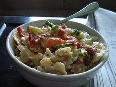 Pine Nut & Feta Pasta Salad