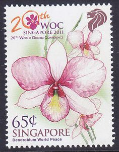 ORCHIDS  on  Singapore stamps & world stamps - Stamp Community Forum