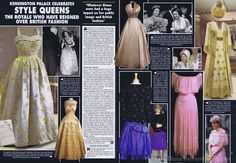 Kensington has exhibition of royal gowns & dresses~~***