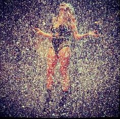 the only way to start your day!! #glitter-gasm