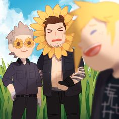 """ I don't know what I'm doing anymore"" Final Fantasy XV"