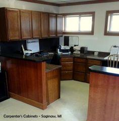 Pro #2633989 | Lumbermen's Inc | Grand Rapids, MI 49548 Corner Desk, Kitchen Cabinets, Furniture, Home Decor, Corner Table, Interior Design, Home Interior Design, Arredamento, Dressers