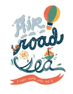 Road Well Traveled by Ann Macarayan, via Behance