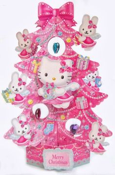 Hello Kitty Xmas Tree