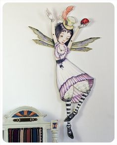 Fairy Articulated Paper Doll