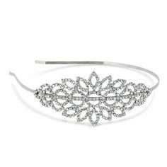 Mood Crystal embellished statement headband- at Debenhams.com