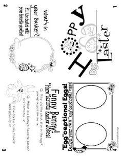 Easter Flippy Book Freebie!