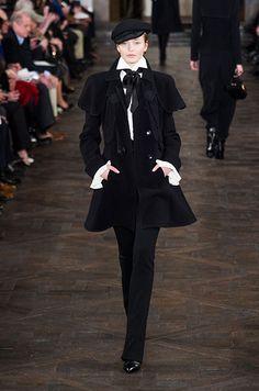 Défilé prêt-à-porter Ralph Lauren, automne-hiver 2013-2014.