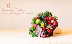 It's unique and tasty! >> DIY: Farmer's Market Bouquet
