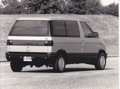 Ford HFX Hia Aerostar concept car (IAA, 9/87), Factory Press Photo.
