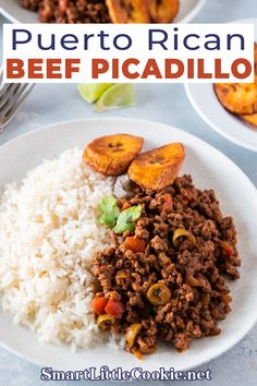 This Puerto Rican Beef Picadillo recipe is a delicious, quick fix, easy dish filled with flavor. It is perfect for weeknight dinners, layered in casseroles and even as a filling for your homemade savory pastries. Beef Picadillo is one of my family's favorite dishes. My daughter loves when I make it to eat with rice and stew black beans. It is the one meal she would devour instantly and would lick the plate if she could.   @smartlilcookie #authenticpuertoricanrecipes Beef Picadillo, Picadillo Recipe, Savory Pastry, Puerto Rican Recipes, Comida Latina, Easy Weeknight Meals, Easy Dinners, Beef Casserole, Healthy Breakfast Recipes