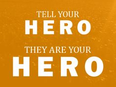 Tell him it's 'Celebrate your Hero Day' and buy him lunch or dinner