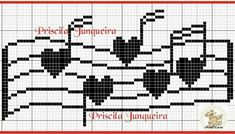 Cross Stitch Music, Cross Stitch Owl, Cross Stitch Cards, Cross Stitch Flowers, Counted Cross Stitch Patterns, Cross Stitch Designs, Cross Stitching, Cross Stitch Embroidery, Pixel Drawing