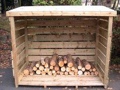 Furniture, Wooden Outdoor Firewood Storage Design Minimalist Ideas With All Woods Also Wood Roof Design Ideas ~ Outdoor Firewood Storage