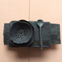 I want it all by Christine Roland Ceramic Spoons, Ceramic Tableware, Ceramic Clay, Ceramic Pottery, Pottery Art, Wabi Sabi, Earthenware, Stoneware, Hand Built Pottery