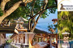 Matahari Beach Resort & Spa, Hotel in Bali Bali, Resort Spa, Beach Resorts, Mansions, House Styles, Indonesia, Paradise, Travel Destinations, Viajes
